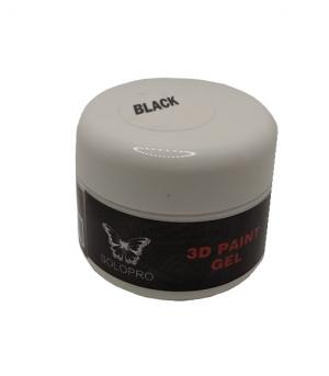 black gel paint